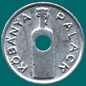 пивной жетон венгрия