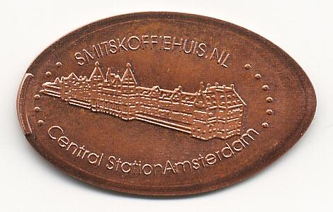 давленная монета центральный ж/д вокзал
