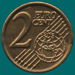 два евроцента