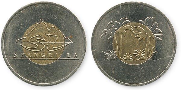 жетон биметалл