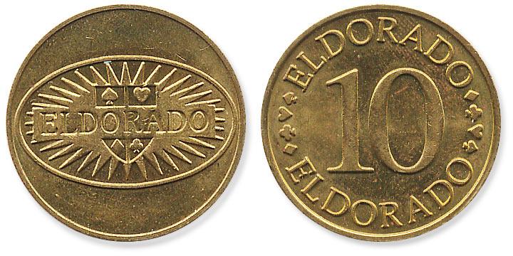 жетон Eldorado 10