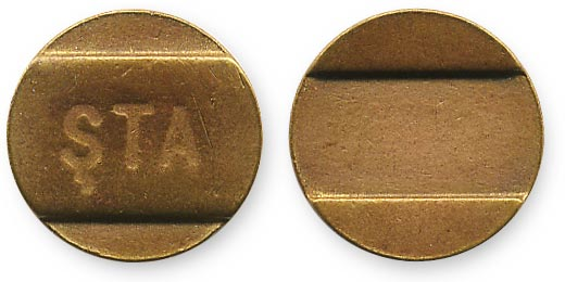 жетон из Баку