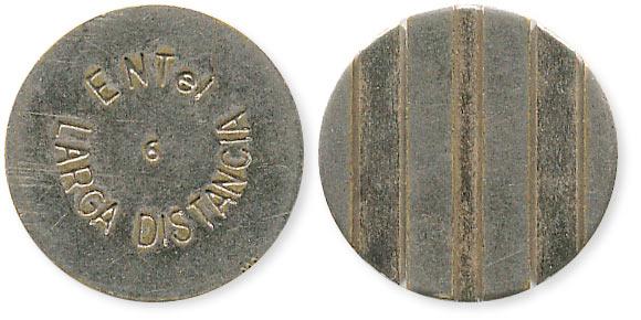 аргентинский телефонный жетон