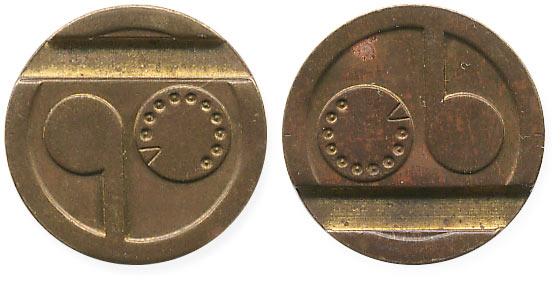 жетон с логотипом