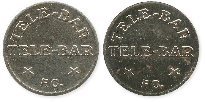 телефонный жетон Tele-Bar