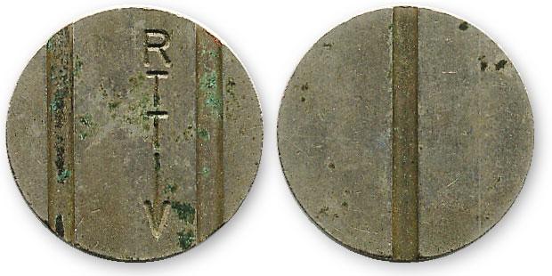бельгийский таксофонный жетон