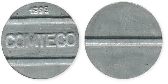 жетон comteco 1999