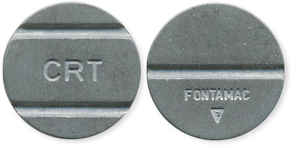 жетон CRT Fontamac