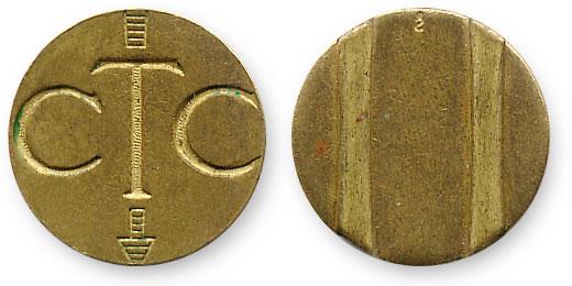 чилийский телефонный жетон