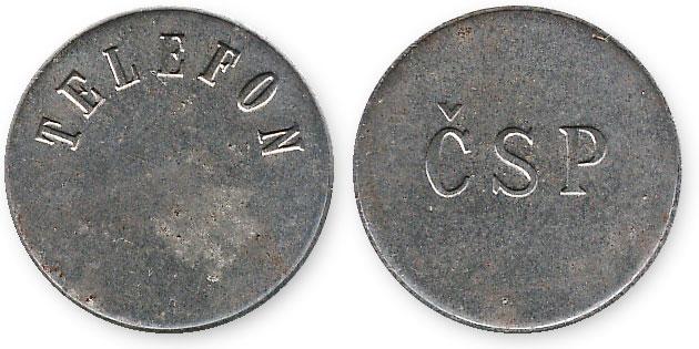 чешский жетон