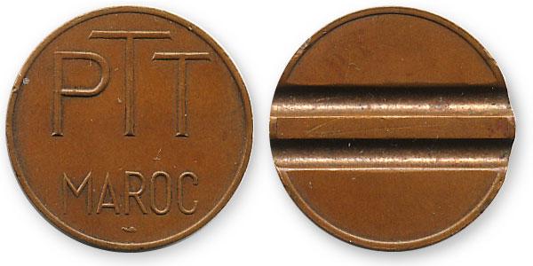 телефонный жетон марокко