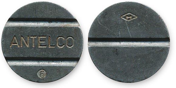 Парагвайский телефонный жетон