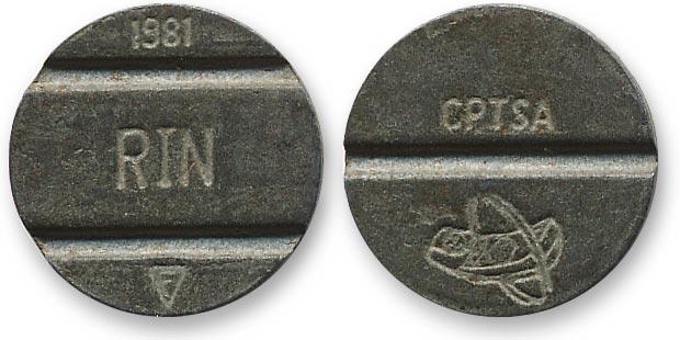 перуанский жетон