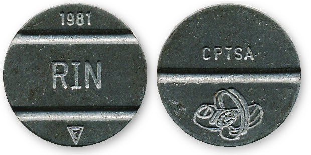 перуанский телефонный жетон