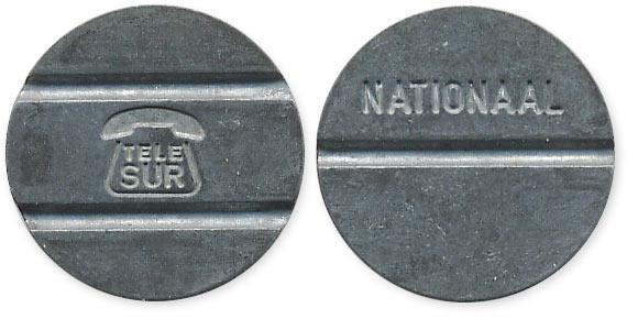 Суринамский телефонный жетон