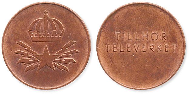 телефонный жетон Швеции
