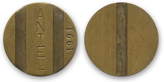 уругвайский телефонный жетон