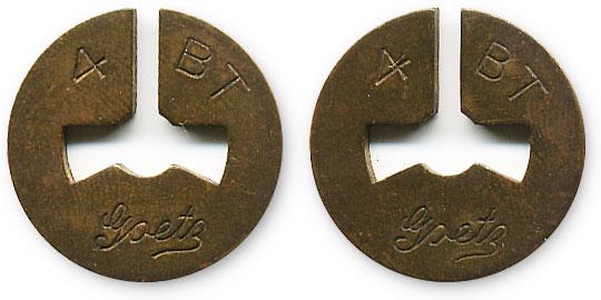 американский жетон