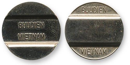 телефонный жетон Вьетнами