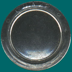 прозрачный жетон