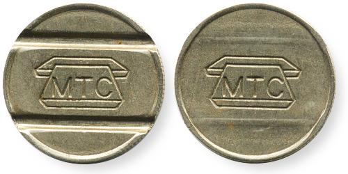 телефонный жетон г.Москва
