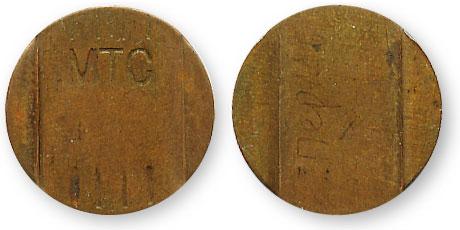 Пермский телефонный жетон