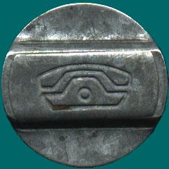 Самарский телефонный жетон