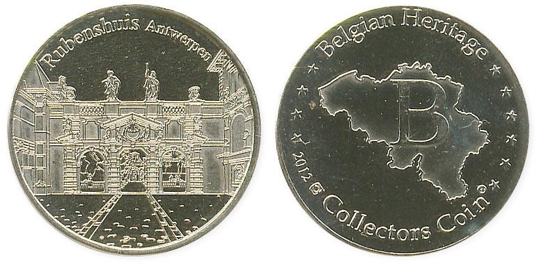 туристический жетон дом Рубенса