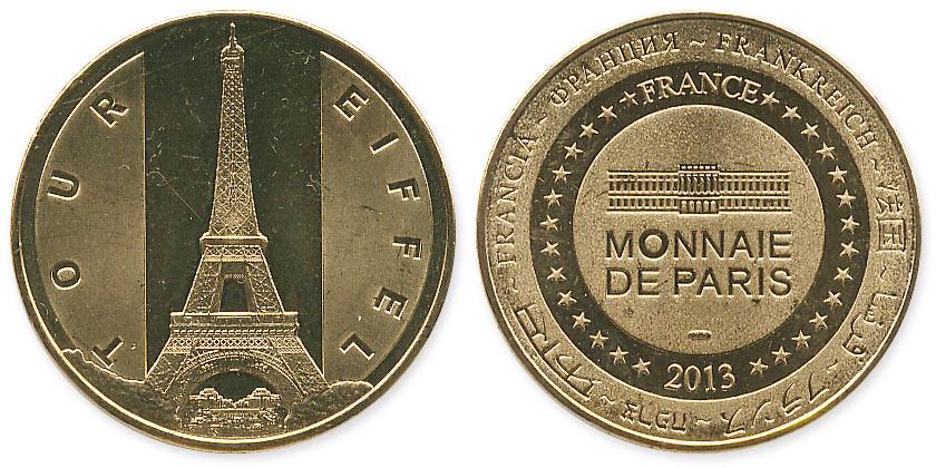 туристический жетон Франция