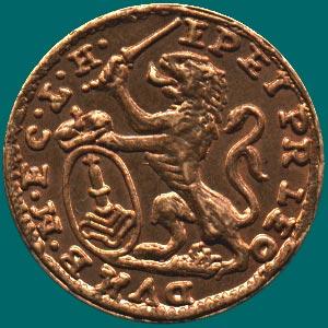 монета со львом