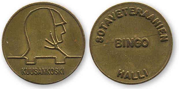 неизвестный финский жетон