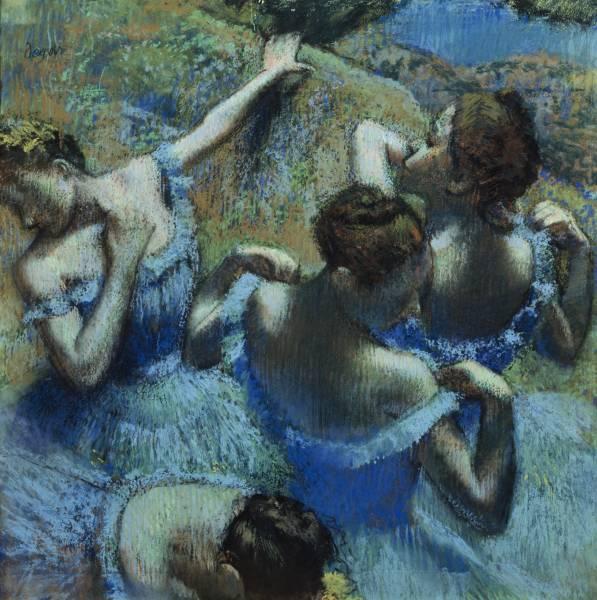 дега голубые танцовщицы
