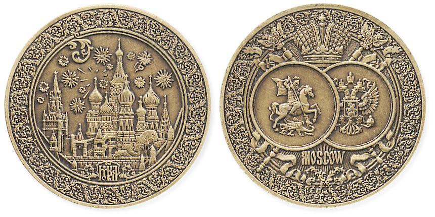 жетон Москва