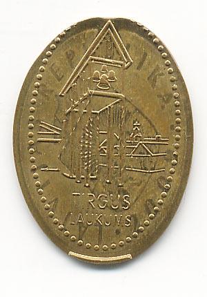 жетон торговая площадь Вентспилс