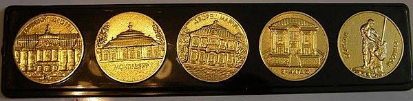 жетоны петергофа