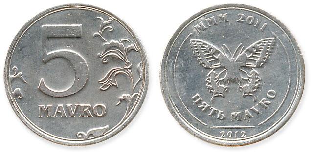 жетон 5 mavro