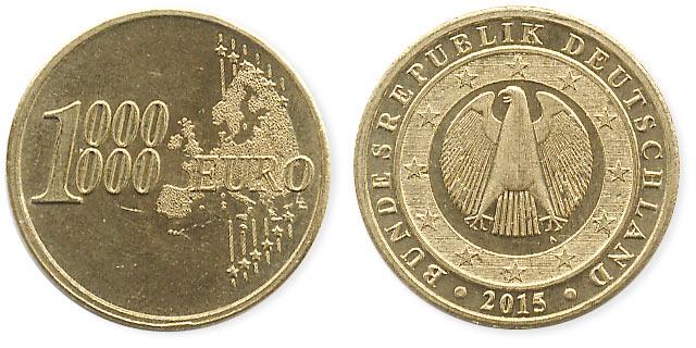 жетон миллион евро