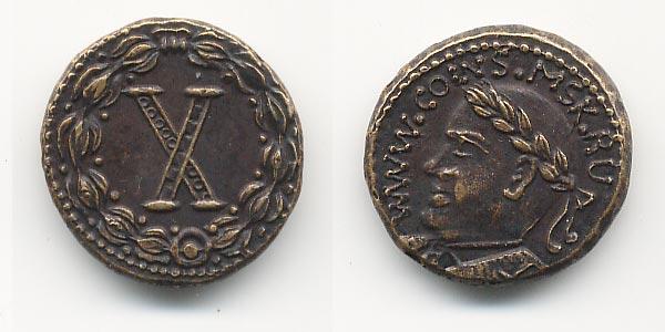 жетон сайта античных монет