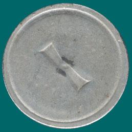 жетон цифра 1