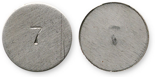 неизвестный жетон семерка