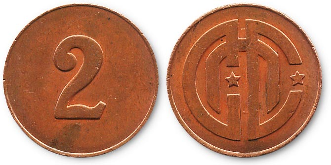 жетон cnc