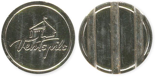 неизвестный жетон ventspils