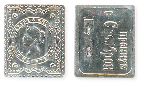 жетон марка полпенса
